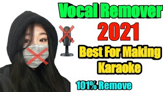 How To Remove Vocals On Music (100% Remove)
