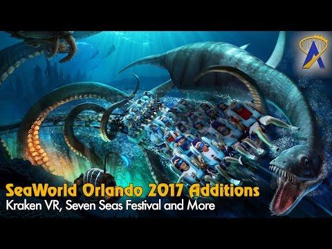 Kraken VR, New Festival and More Announced for SeaWorld Orlando in 2017