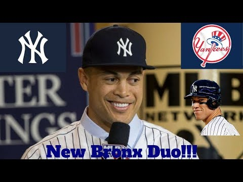 Giancarlo Stanton Traded To The Yankees (World Series Favorites???)