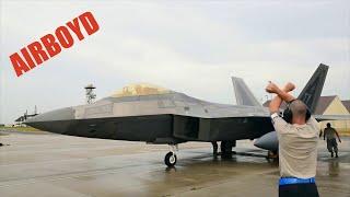 F 22 Raptors Arrive At Spangdahlem