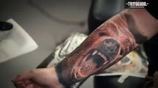 Trailer Steve Butcher - Color Realism Tattooing
