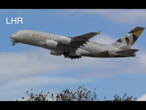 Plane Spotting *Afternoon Takeoffs* RW27L London Heathrow Airport Inc.Air New Zealand, A380s,...✈️✈️