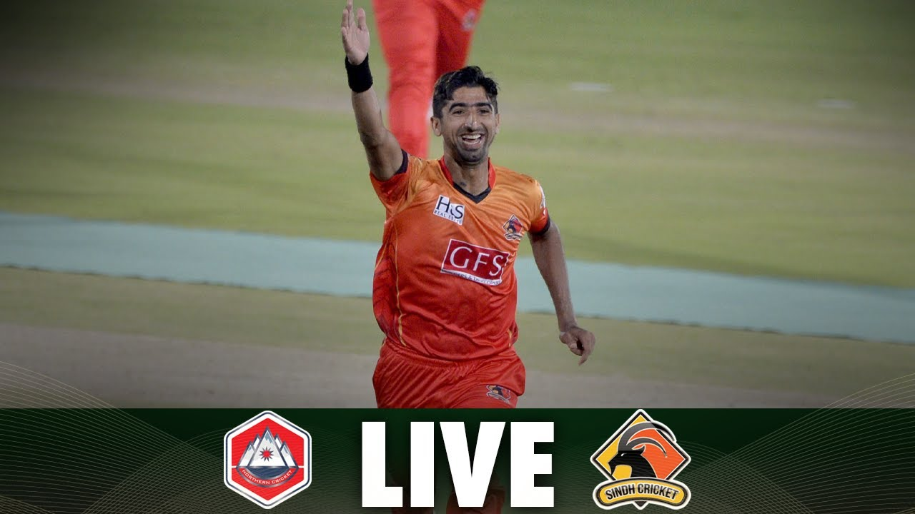 Download LIVE | Match 6 | Sindh vs Northern | National T20 2021