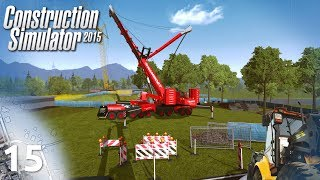 "Construction Simulator 2015 #15 - ""Budujemy mosty"""