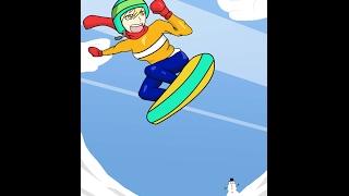 chica snowboard (Speedpaint)