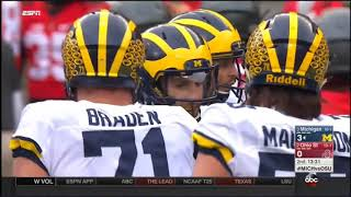 2016 - Michigan Wolverines at Ohio State Buckeyes in 40 Minutes