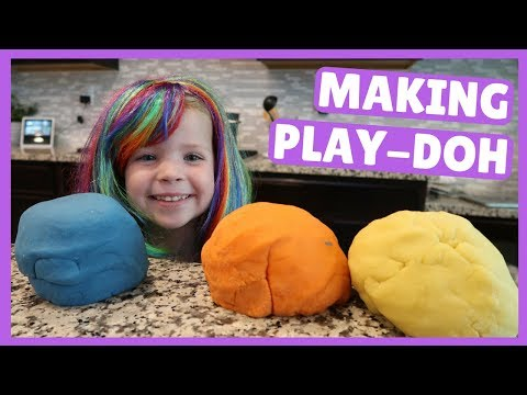 How To Make Homemade Play-Doh