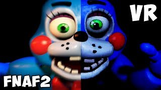 FNAF 2 vs. FNAF VR Jumpscares Comparison