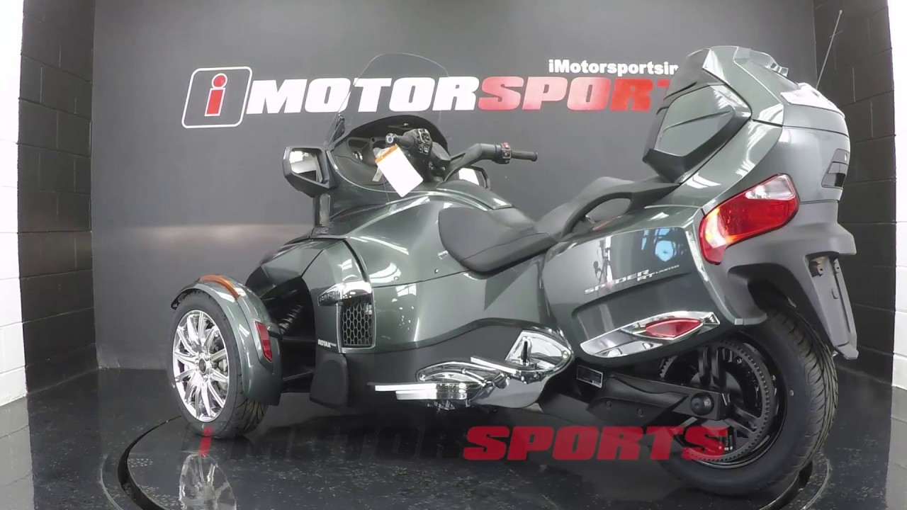 2017 Can Am Spyder Rt Limited 6 Sd Semi Automatic A2861 Imotorsports