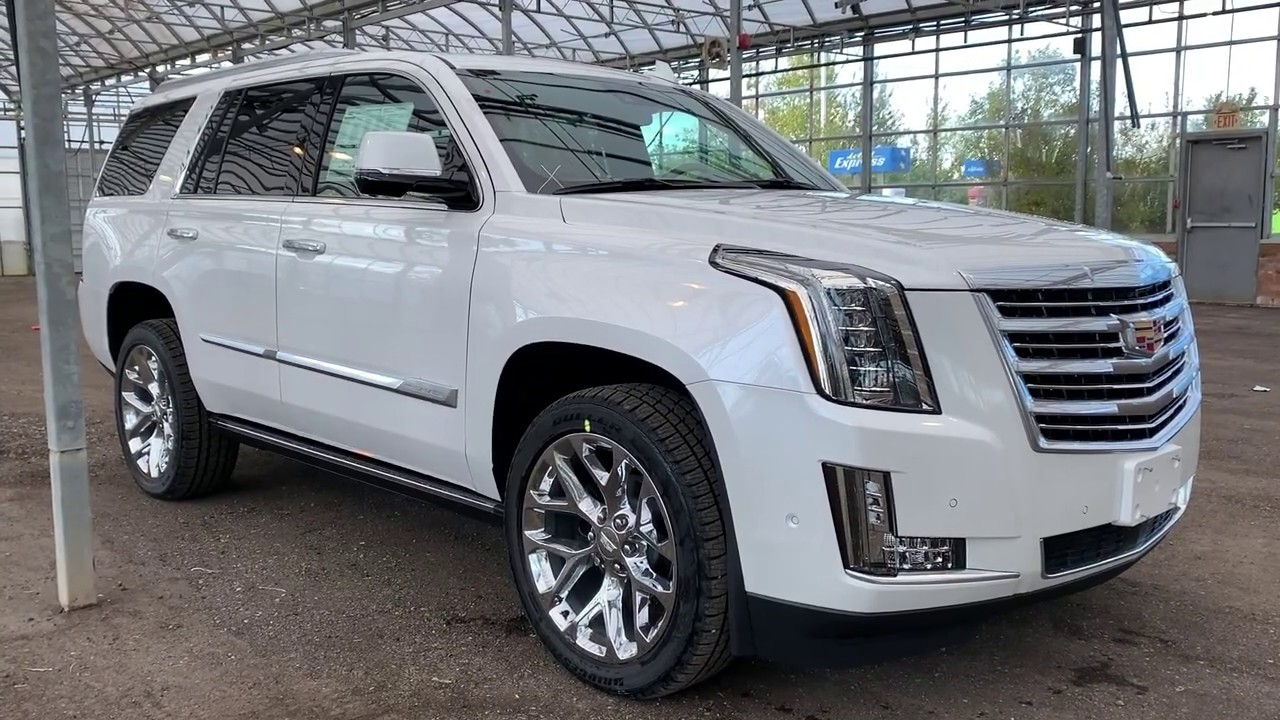 2020 Cadillac Escalade Platinum Exterior And Interior Walkaround