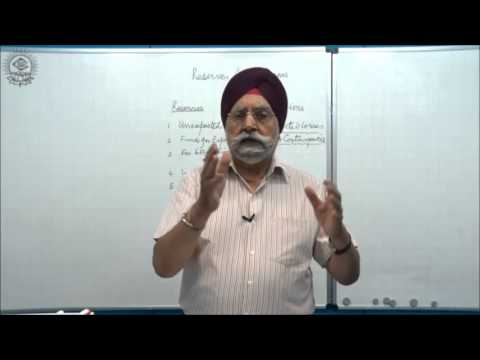 Reserves and Provisions, and their AC treatment_Cl XI AC by Dr. Balbir Singh