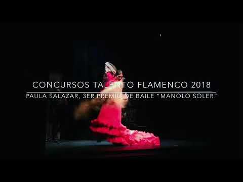 Concursos Talento Flamenco 2018. Paula Salazar
