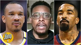 Is JR Smith a good fit to replace Avery Bradley on the Lakers? | The Jump