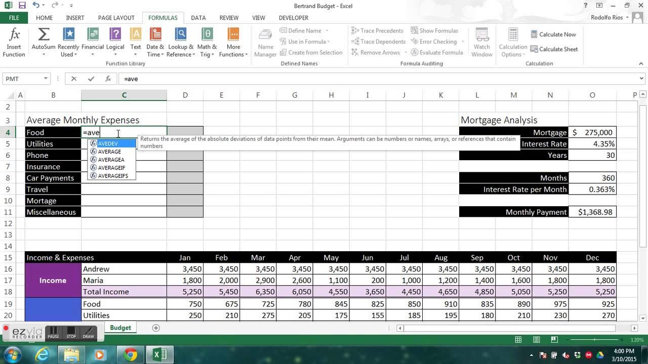 Excel Module 3 Case 4