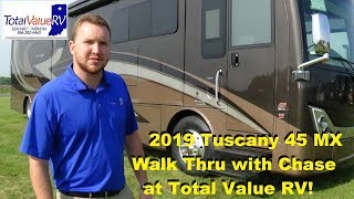 2019 Tuscany 45 MX Walk thru with Chase at Total Value RV!