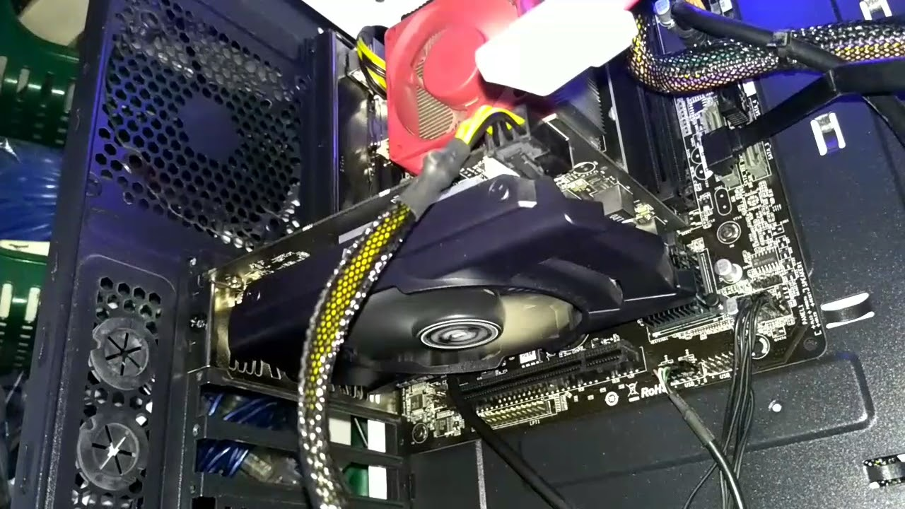 GPU fans start spinning then stops every 3 seconds [FIXED]
