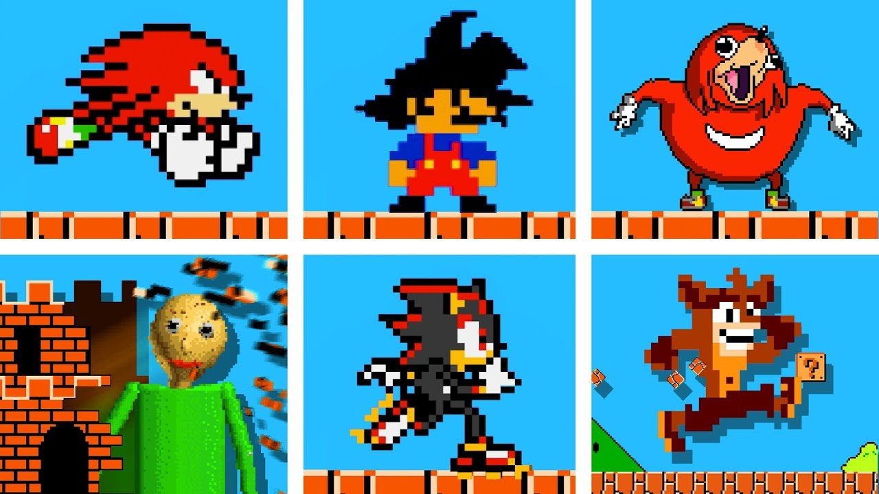 Famous Op Characters In Super Mario Bros Official Series Season