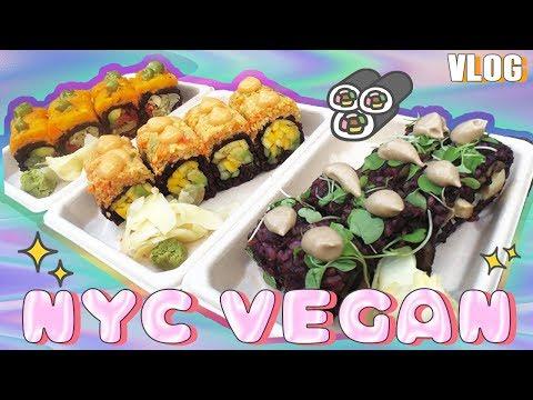 🍣 NYC VEGAN    Beyond Sushi & The High Line