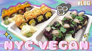 🍣 NYC VEGAN || Beyond Sushi & The High Line