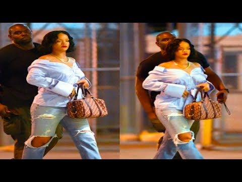 SHOCKING! Is Rihanna Having A Baby?