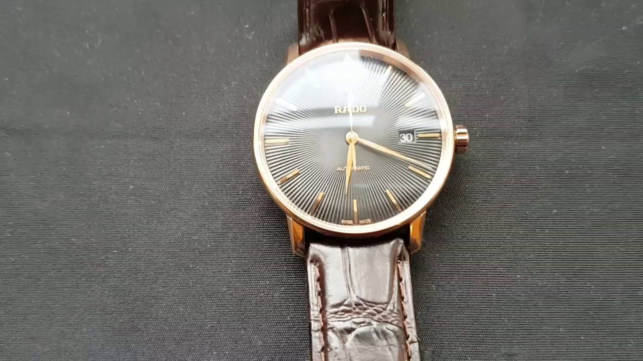 a5ad7cb90 Rado Coupole Classic men's watch - My new exclusive dress watch from Rado