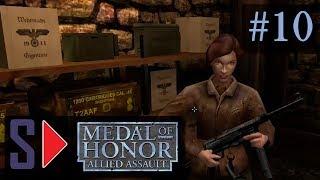 """Medal of Honor: Allied Assault (сложность """"Тяжело"""") - #10 Встреча с Сопротивлением"""
