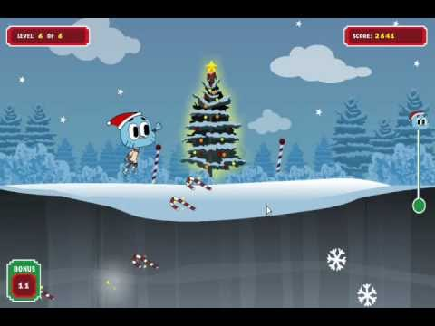 The Amazing World of Gumball Game - Gumball's Candy Cane Climber