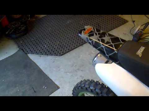 tänning problem med en Loncin 125cc som har Outer Rotor Kit