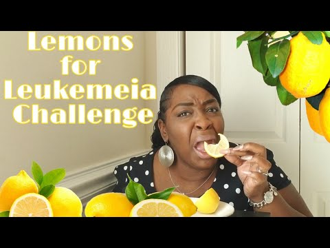 LEMONS FOR LEUKEMEIA CHALLENGE ACCEPTED