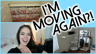 Packing Up My Life! IM MOVING AGAIN?!