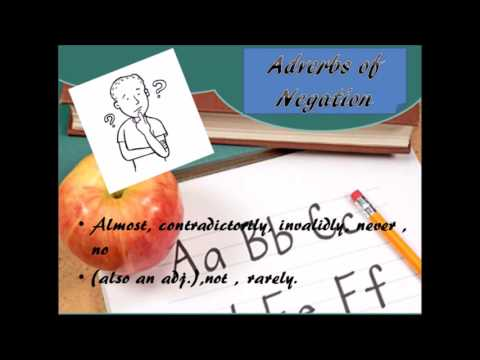 Adverbs Of Affirmation And Negation Youtube