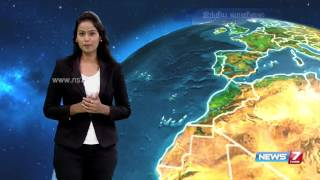 Weather Forecast | 14.05.2016 | News7 Tamil