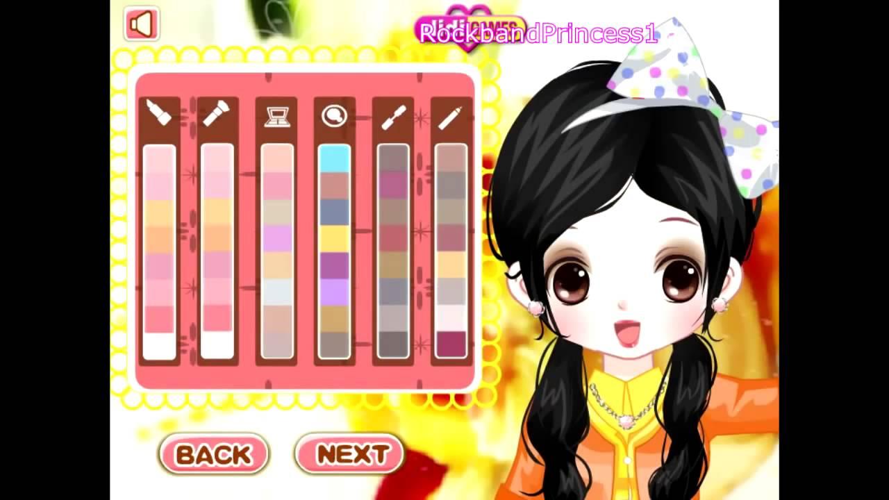 0401 girls dress up games cute little girls dress up game