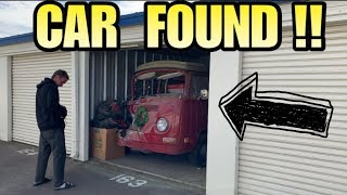 CLASSIC CAR FOUND IN STORAGE UNIT! I bought an abandoned storage unit and found car