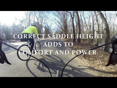 Correct Saddle Height Adds To Comfort And Power | Cycling Tip Of The Day