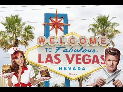 """Лас-Вегас. Ночная жизнь. Ресторан Гордона Рамзи, """"Адская кухня"""". По следам Орла и Решки."""