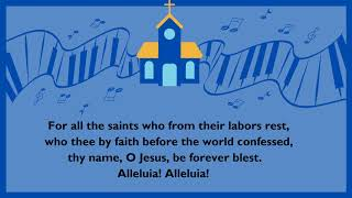 Hymn Of The Week: For All The Saints