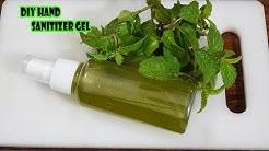 DIY Hand Sanitizer Gel | How To Make Hand Sanitizer Gel By Mint Leaf At Home