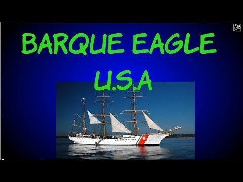 Barque Eagle U S  Coast Guard Tall Ship Virtual Tour 3D slide show