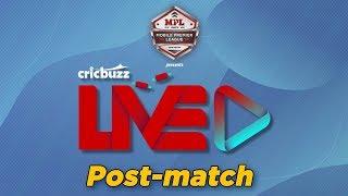 Cricbuzz LIVE: Match 31, Mumbai v Bangalore, Post-match show