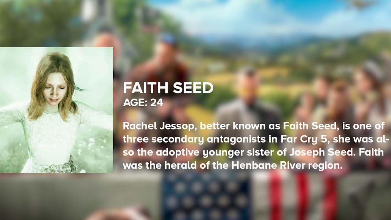 Faith Seed Far Cry 5 Character Audio Only Youtube
