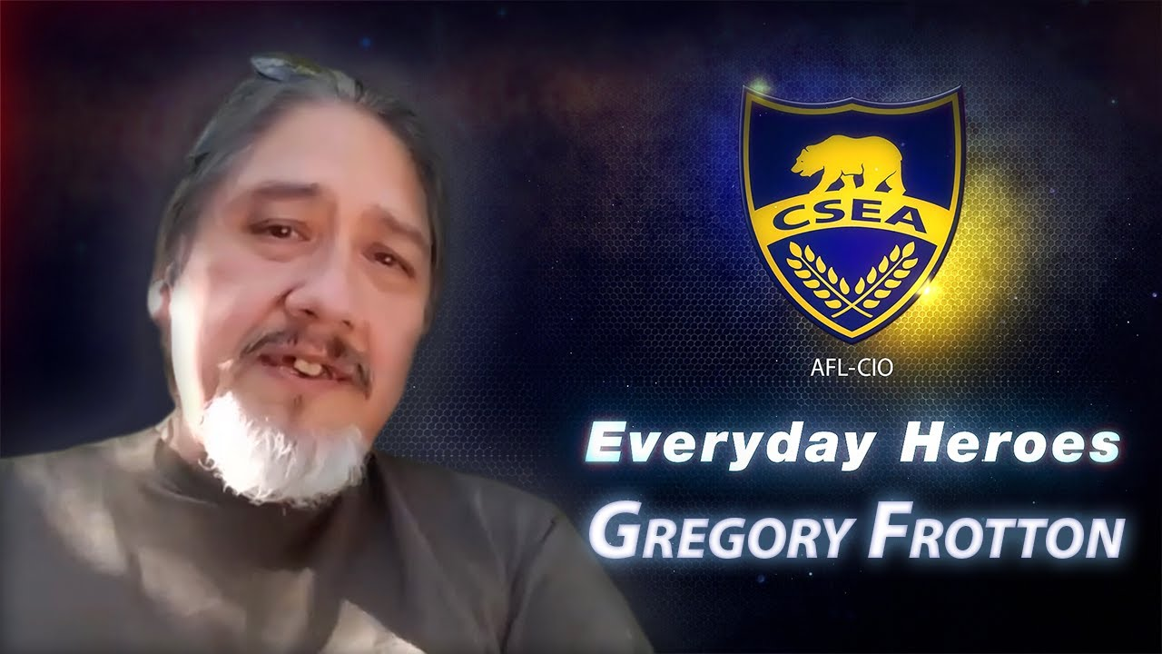 Everyday Hero Greg Frotton