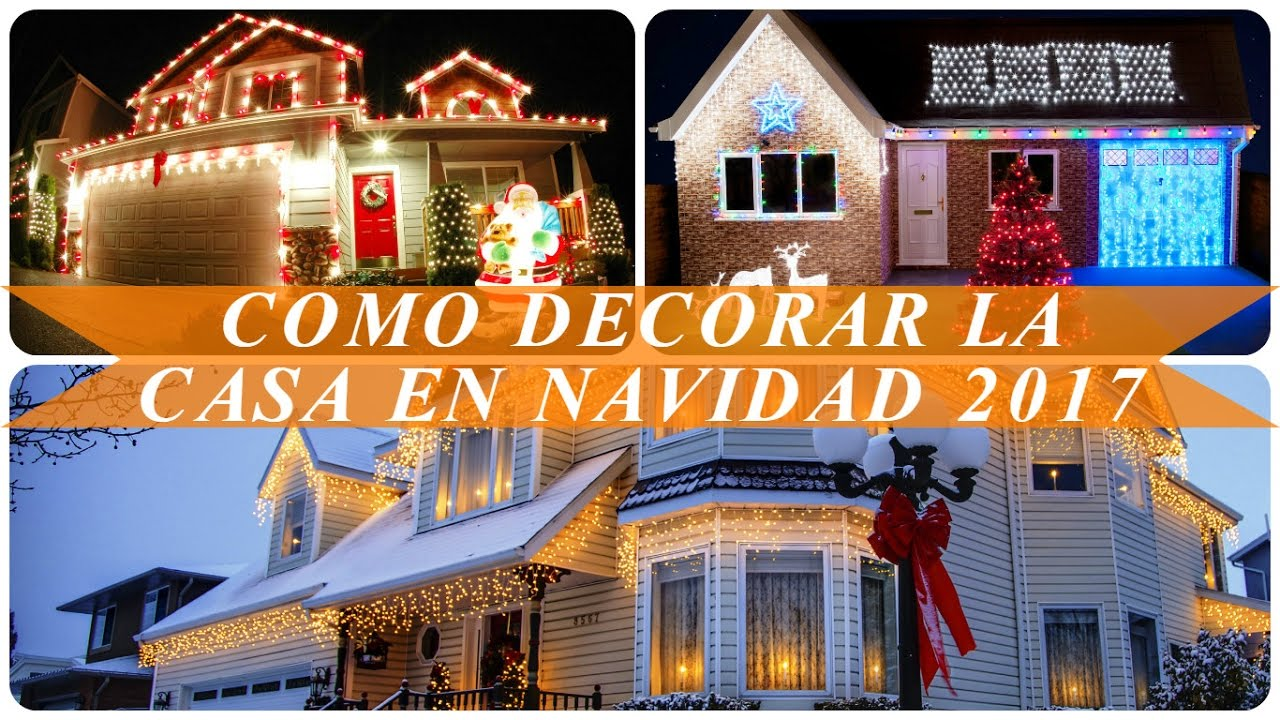 Lacasa Decoracion Como Decorar La Casa En Navidad 2017 - Youtube