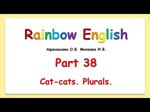 Rainbow English 2 класс. Plurals. Множественное число существительных.