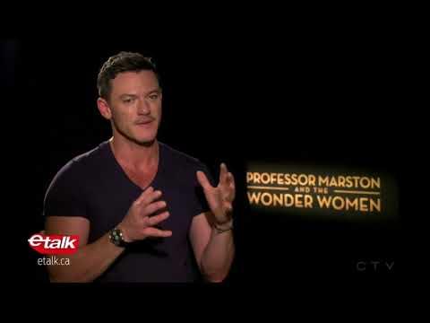 Luke Evans on Professor Marston and the Wonder Women