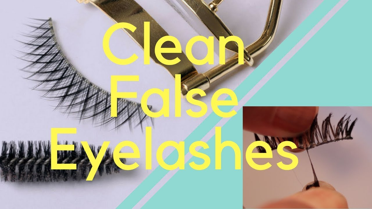 e5d27182edf How To: Restore False Eyelashes - YouTube