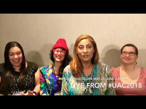 Sag Full Moon+ Venus Grand Trine! May 27-June 2 2018 Astrology Horoscope Live from #UAC2018