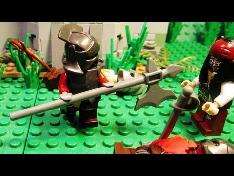 *Lego* Lord of the Rings vs Pirates of the Caribbean
