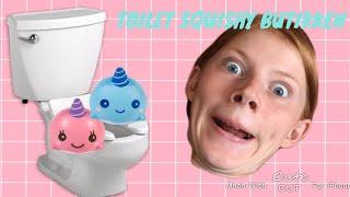 Toilet squishy butikken