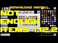 NOT ENOUGH ITEMS 1.12.2 minecraft - how to download and install NEI 1.12.2 (with forge on Windows)